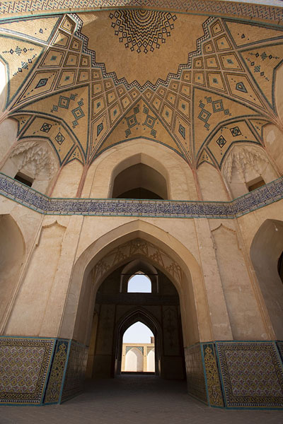 The central hall of the mosque | Masjed-e Agha Bozorg | Iran
