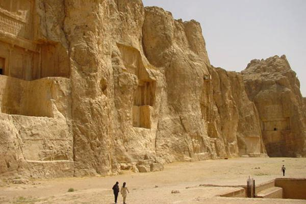 The four tombs in a row | Naghsh-e Rostam | Iran