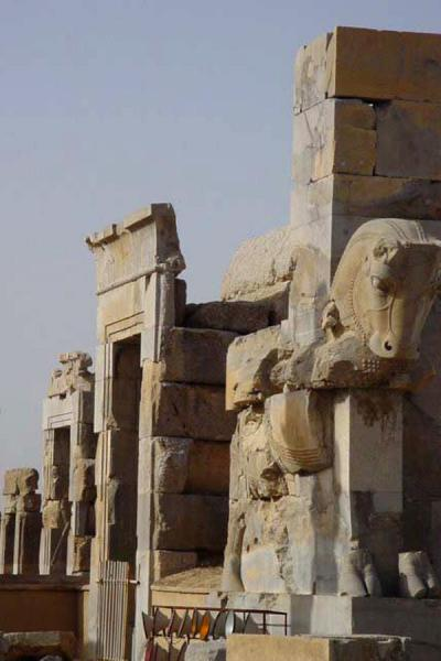Foto van At the Unfinished GatePersepolis - Iran