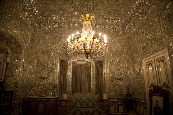 Foto van Mirror room in the Green PalaceTeheran - Iran