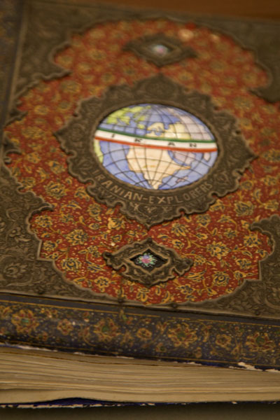 Notebook of one of the Omidvar Brothers | Sa'd Abad Museum Complex | Iran