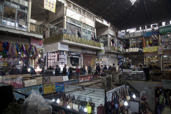 Overview of a section of the bazar | Bazar de Teherán | Irán