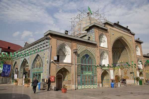 Foto van Mosque inside the bazar - Iran - Azië