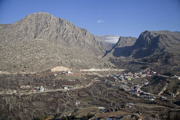 Photo de Looking north from AmediAmedi - Irak