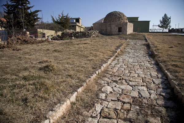 Picture of 15th century Princes graveyard in the town of Amedi
