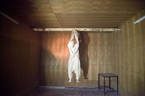 Torture chamber of Saddam Hussein in Amna Suraka | Amna Suraka prison | Iraq