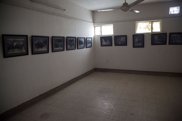 Picture of Exhibition of horrific pictures of killed Kurdish fighters