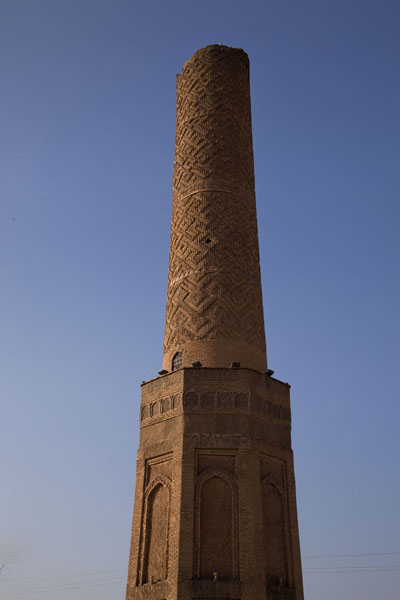 Photo de The minaret of Minaret Park in the afternoon winter sunErbil - Irak
