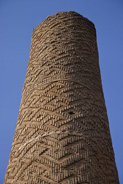 Top of the 13th century minaret, centrepiece of Minaret Park | Minaret Park | Iraq