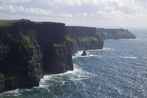 Foto di Irlanda (View from the north along the Cliffs of Moher)