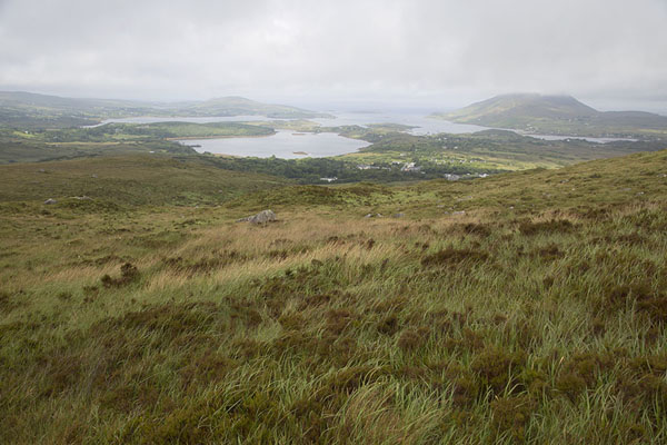 Picture of Connemara National Park (Ireland): Looking west with Ballinakill Harbour in the background