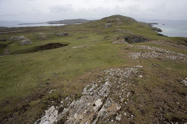 Foto van View of the western tip of InishbofinInishbofin - Ierland
