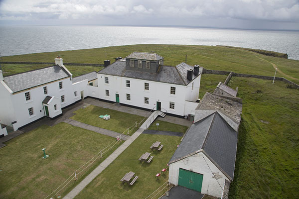 Picture of The buildings at the tip of Loop Head peninsula seen from the lighthouse