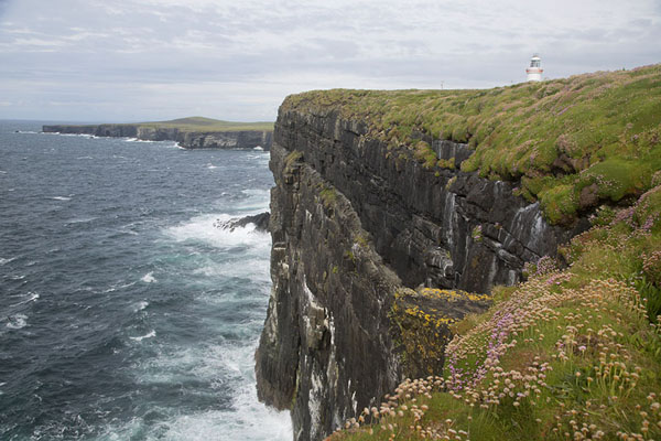 Looking out over the northern tip of Loop Head peninsula with the top of the lighthouse on the right | Loop Head Peninsula | Ireland