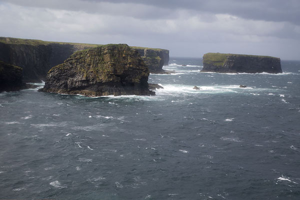 Picture of Rocky islets off the coast just west of KilkeeLoop Head - Ireland