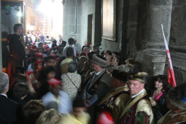 Picture of Good Friday drawing a huge crowd in the holiest churchJerusalem - Israel
