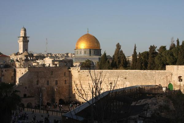Foto van Dome of the Rock and Western WallRotskoepel - Israël