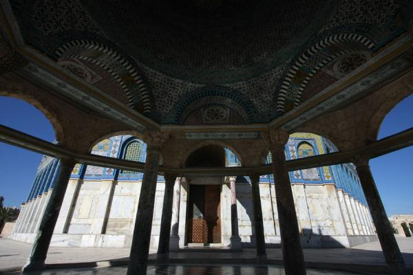 Photo de View of Dome of the Rock from within the Dome of the ChainDôme du Rocher - Israël