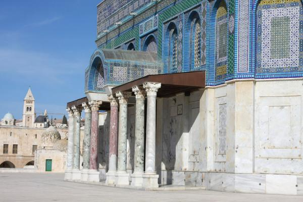Exterior of Dome of the Rock - 以色列