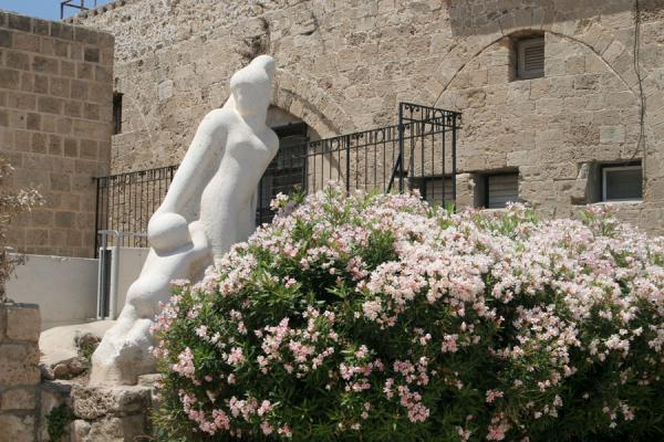 Picture of Jaffa (Israel): Elegant statue in Jaffa