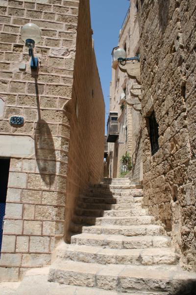 One of the alleys and stairs in Jaffa | Jaffa | Israel