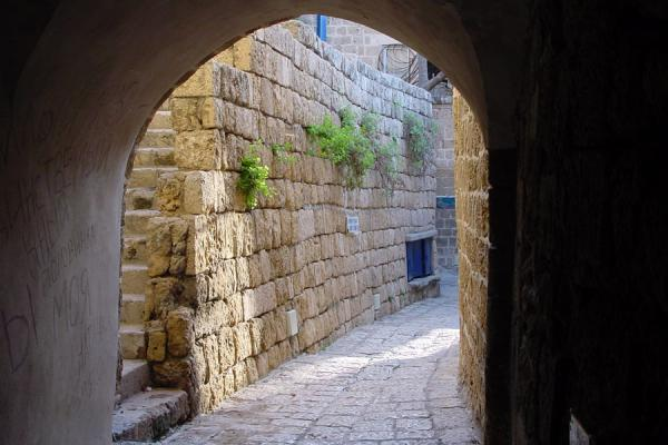 Picture of Jaffa (Israel): Alley in Jaffa