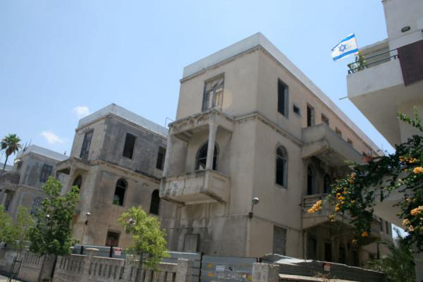 Picture of Neve Tzedek apartment blocks