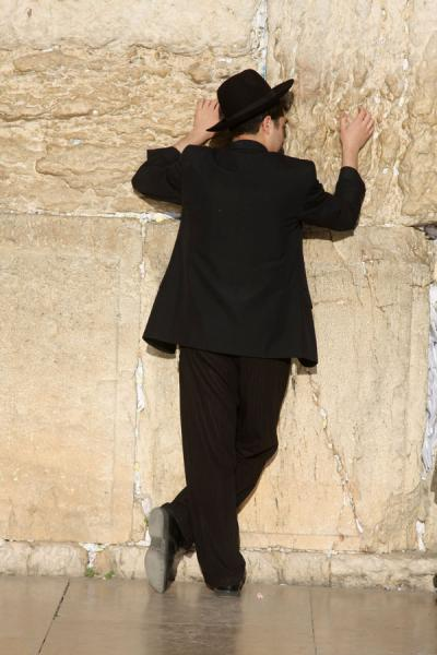 Picture of Western Wall (Israel): Standing at the Western Wall