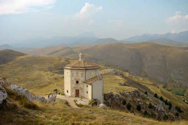 Picture of Abruzzo Landscape (Italy): Mountains in Abruzzo