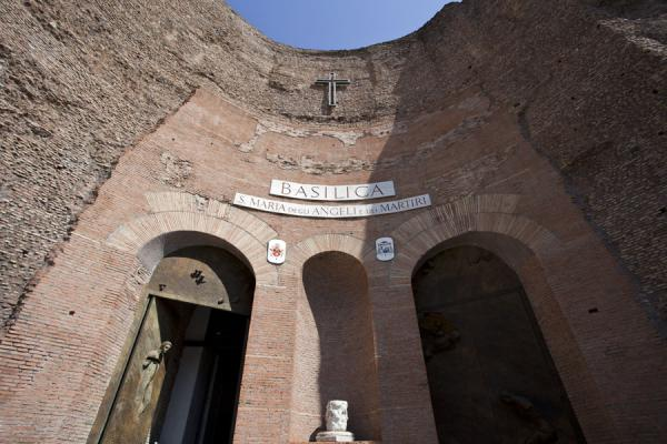Picture of Baths of Diocletian