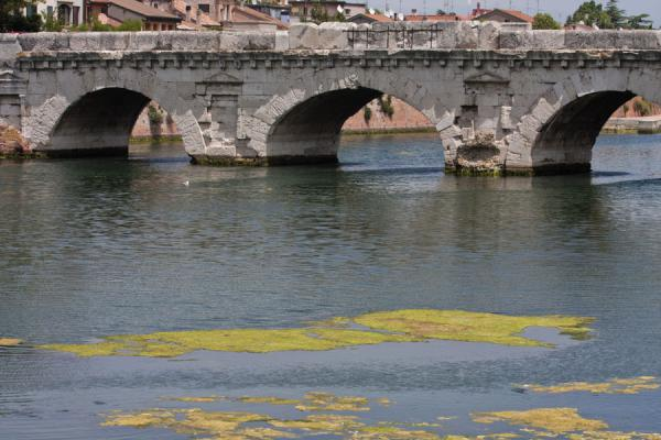 Foto de The Bridge of Tiberius seen from a distancePuente de Tiberio - Italia