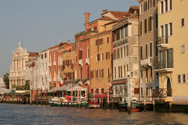 Foto de Typical sight on the Canal Grande - Italia - Europa