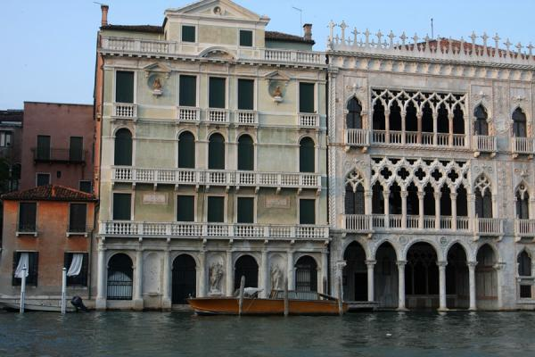 Picture of Canal Grande (Italy): Majestic palazzi, among which Ca d'Oro on the right, on the Canal Grande