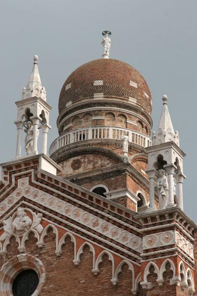 Cupola on the campanile of the Madonna dell'Orto church | Cannaregio | Italy