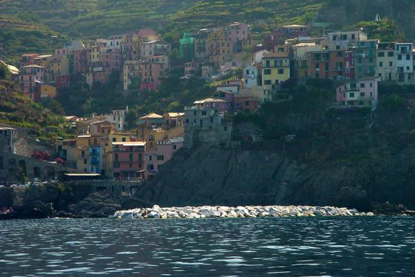 Manarolo seen from the sea | Cinque Terre | Italy