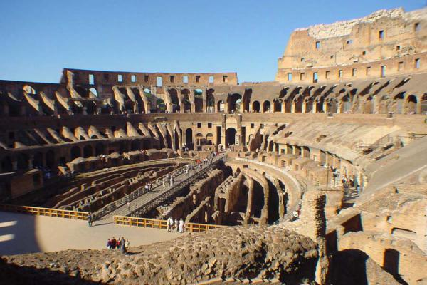 Picture of Colosseum (Italy): Inside the Colosseum - Rome