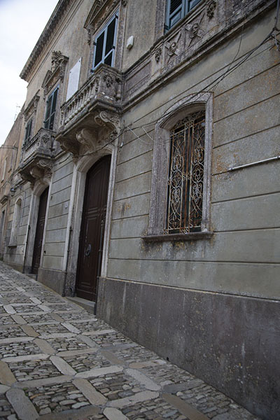 House where Garibaldi addressed the locals from the balcony | Erice | l'Italie
