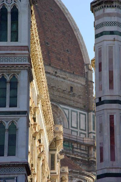 Looking through from the fronside towards the Dome | Florence Cathedral | Italy