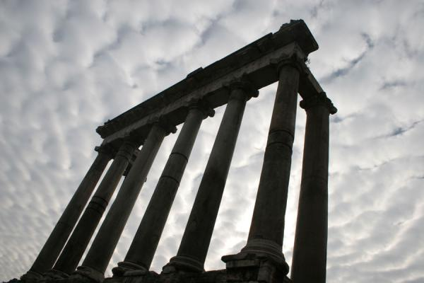 Columns of the Temple of Saturn | Forum Romanum | Italy