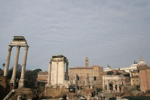 Forum Romanum, looking west | Forum Romanum | Italy