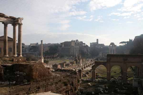 Looking East over the Forum Romanum | Forum Romanum | Italy