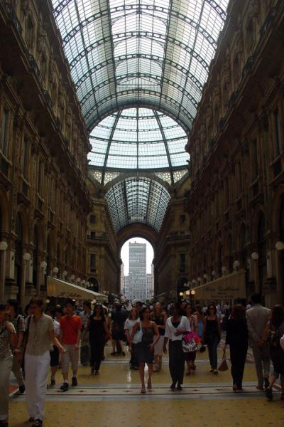 Picture of Galleria Vittorio Emmanuele II (Italy): Vittorio Emmanuele shopping mall, Milan