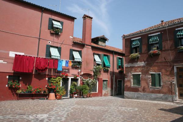 Cosy square in Giudecca island | Giudecca | Italy