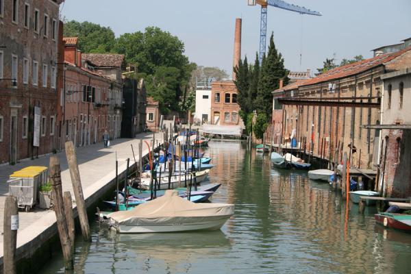 Quiet canal in Giudecca | Giudecca | Italy