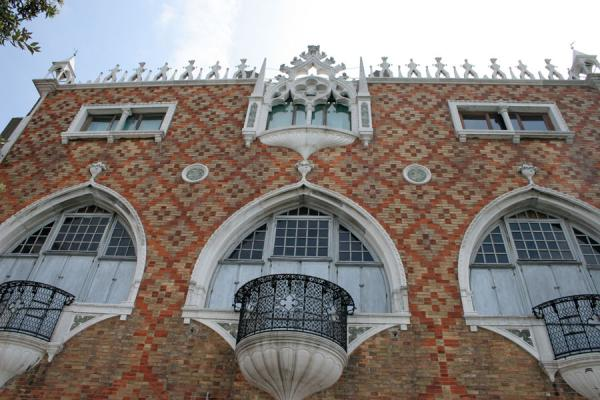 Picture of Modern architecture in Venetian style in Giudecca palaceVenice - Italy
