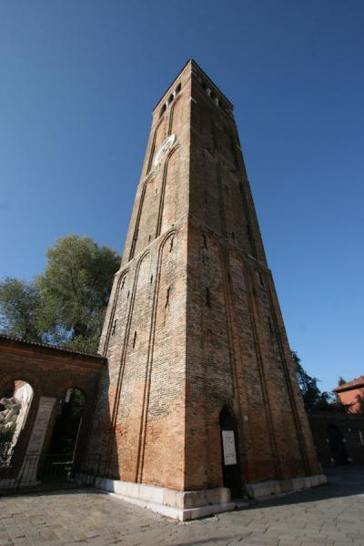 Bell tower of the Santa Maria e San Donato church in Murano | Murano | Italy