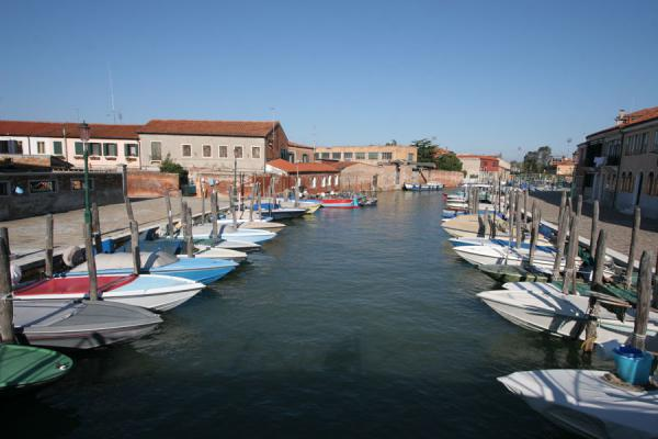 Canal with boats in Murano | Murano | Italy