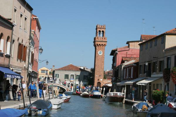 Canal and tower in Murano | Murano | Italy