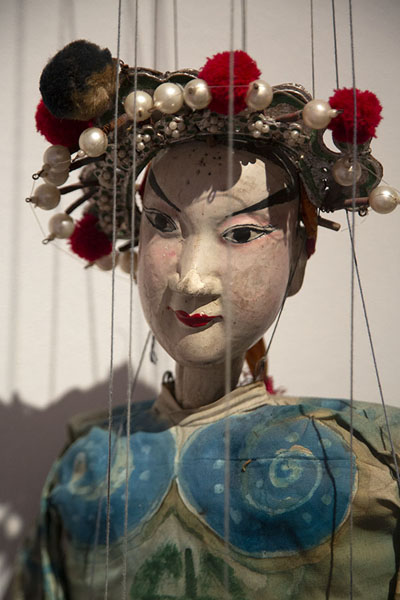 Picture of Asian marionettePalermo - Italy