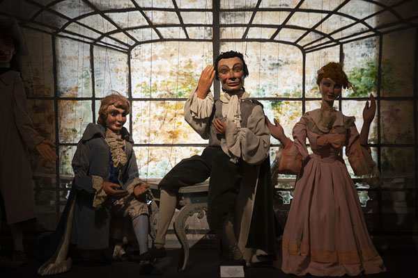 Picture of The Barbier of Seville carried out by puppetsPalermo - Italy